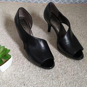 Life Stride soft sistem black shoes